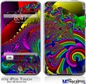 iPod Touch 2G & 3G Skin - And This Is Your Brain On Drugs