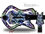 Breath Decal Style Skin - fits Warriors Of Rock Guitar Hero Guitar (GUITAR NOT INCLUDED)