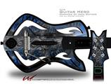 Contrast Decal Style Skin - fits Warriors Of Rock Guitar Hero Guitar (GUITAR NOT INCLUDED)