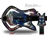Spherical Space Decal Style Skin - fits Warriors Of Rock Guitar Hero Guitar (GUITAR NOT INCLUDED)