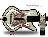 Firebird Decal Style Skin - fits Warriors Of Rock Guitar Hero Guitar (GUITAR NOT INCLUDED)