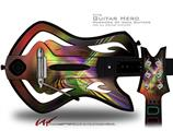 Prismatic Decal Style Skin - fits Warriors Of Rock Guitar Hero Guitar (GUITAR NOT INCLUDED)