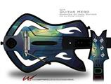 Orchid Decal Style Skin - fits Warriors Of Rock Guitar Hero Guitar (GUITAR NOT INCLUDED)