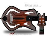 Trivial Waves Decal Style Skin - fits Warriors Of Rock Guitar Hero Guitar (GUITAR NOT INCLUDED)