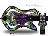 Twist Decal Style Skin - fits Warriors Of Rock Guitar Hero Guitar (GUITAR NOT INCLUDED)