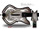 Under Construction Decal Style Skin - fits Warriors Of Rock Guitar Hero Guitar (GUITAR NOT INCLUDED)
