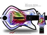 Burst Decal Style Skin - fits Warriors Of Rock Guitar Hero Guitar (GUITAR NOT INCLUDED)