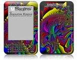 And This Is Your Brain On Drugs - Decal Style Skin fits Amazon Kindle 3 Keyboard (with 6 inch display)