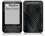 Dark Mesh - Decal Style Skin fits Amazon Kindle 3 Keyboard (with 6 inch display)