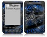 Contrast - Decal Style Skin fits Amazon Kindle 3 Keyboard (with 6 inch display)