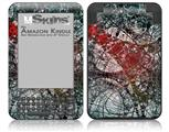 Tissue - Decal Style Skin fits Amazon Kindle 3 Keyboard (with 6 inch display)